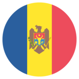Flag: Moldova on JoyPixels 2.2.4