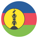 New Caledonia on EmojiOne 2.2.4