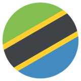 Flag: Tanzania on JoyPixels 2.2.4