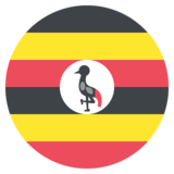 Flag: Uganda on JoyPixels 2.2.4