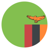 Flag: Zambia on JoyPixels 2.2.4