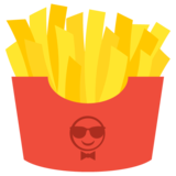 French Fries on JoyPixels 2.2.4