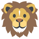 Lion on JoyPixels 2.2.4