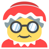 Mrs. Claus on JoyPixels 2.2.4