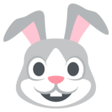 Rabbit Face on JoyPixels 2.2.4