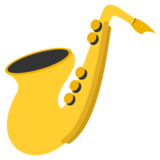 Saxophone on EmojiOne 2.2.4