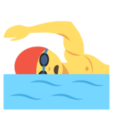 Person Swimming on JoyPixels 2.2.4