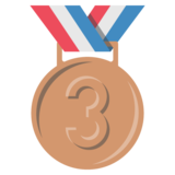 3rd Place Medal on JoyPixels 2.2.4