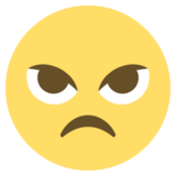 Angry Face on JoyPixels 2.2.5
