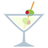 Cocktail Glass on JoyPixels 2.2.5