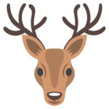 Deer on JoyPixels 2.2.5