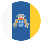 Flag: Canary Islands on JoyPixels 2.2.5