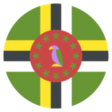 Flag: Dominica on JoyPixels 2.2.5