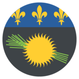 Flag: Guadeloupe on JoyPixels 2.2.5