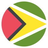 Flag: Guyana on JoyPixels 2.2.5