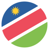 Flag: Namibia on JoyPixels 2.2.5