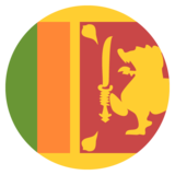 Flag: Sri Lanka on JoyPixels 2.2.5
