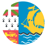 Flag: St. Pierre & Miquelon on JoyPixels 2.2.5