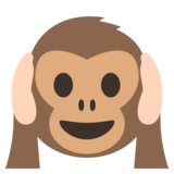 Hear-No-Evil Monkey on JoyPixels 2.2.5