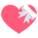 Heart with Ribbon on JoyPixels 2.2.5