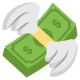 Money with Wings on JoyPixels 2.2.5