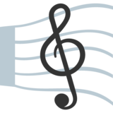 Musical Score on JoyPixels 2.2.5