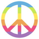 Peace Symbol on JoyPixels 2.2.5
