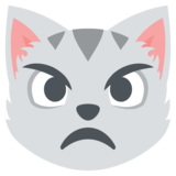 Pouting Cat on JoyPixels 2.2.5