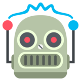 Robot Face on JoyPixels 2.2.5