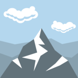 Snow-Capped Mountain on JoyPixels 2.2.5