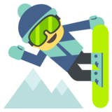Snowboarder on JoyPixels 2.2.5