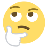 Thinking Face on EmojiOne 2.2.5