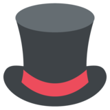 Top Hat on JoyPixels 2.2.5