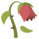 Wilted Flower on EmojiOne 2.2.5