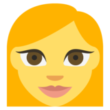 Woman on EmojiOne 2.2.5