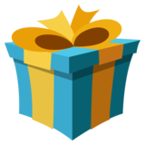 Wrapped Gift on JoyPixels 2.2.5