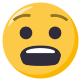 Anguished Face on EmojiOne 3.0