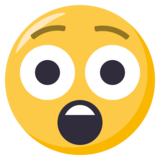 Astonished Face on EmojiOne 3.0