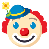 Clown Face on EmojiOne 3.0