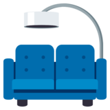 Couch and Lamp on JoyPixels 3.0