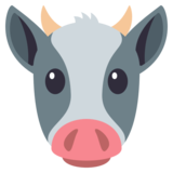 Cow Face on JoyPixels 3.0