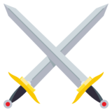 Crossed Swords on JoyPixels 3.0
