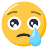 Crying Face on EmojiOne 3.0
