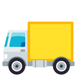 Delivery Truck on JoyPixels 3.0