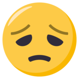 Disappointed Face on EmojiOne 3.0
