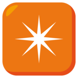 Eight-Pointed Star on JoyPixels 3.0