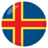 Flag: Åland Islands on JoyPixels 3.0
