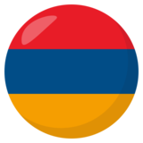 Flag: Armenia on JoyPixels 3.0