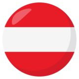 Flag: Austria on JoyPixels 3.0