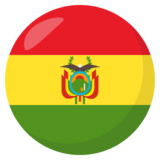Flag: Bolivia on JoyPixels 3.0